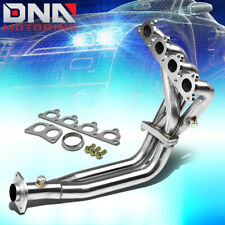 STAINLESS 4-2-1 HEADER FOR CIVIC/CRX/DEL SOL D-SERIES l4 SOHC EXHAUST/MANIFOLD