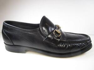 Mens FootJoy Brown Leather Loafer Size 8.5
