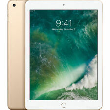 NEUF APPLE IPAD 32GB 9.7 INCH WI-FI 2017 VER TABLET OR GOLD
