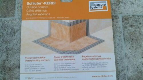 Outside Schluter Kerdi Corner 10pcs