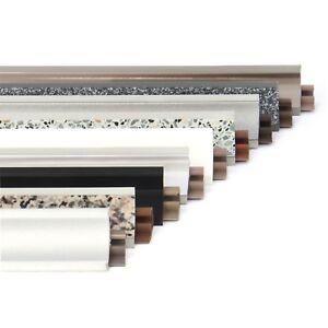 Dettagli su 23mm PVC 1,5m - 3m CUCINA ALZATINA e accessori piano di lavoro  a parete stecca