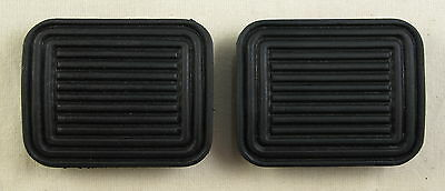 VW Bay window 68-79 Bus Clutch and Brake Pedal pad Rubbers Pair 2x camper