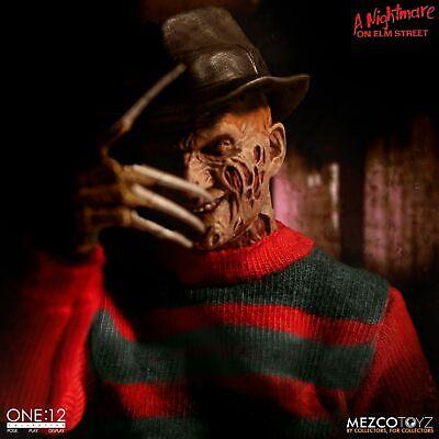 One:12 Collective Freddy Krueger Nightmare On Elm Street  1//12th Figure Mezco