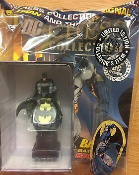 DC COMICS SUPER HERO Chess Collection Special Batman Batsignal-Neuf Scellé Entièrement neuf dans sa boîte