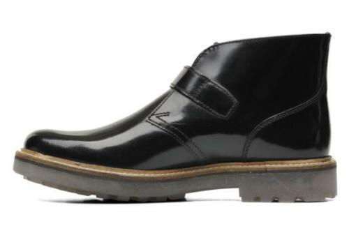 8 9 Uk 11 Clarks Leather Black Monmart G 7 12 Shine 5 Hi 8 Mens 10 YPBY8