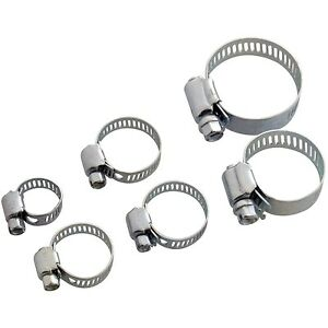 Image Is Loading 6 X HOSE CLAMP CLAMPS JUBILEE CLIP TYPE