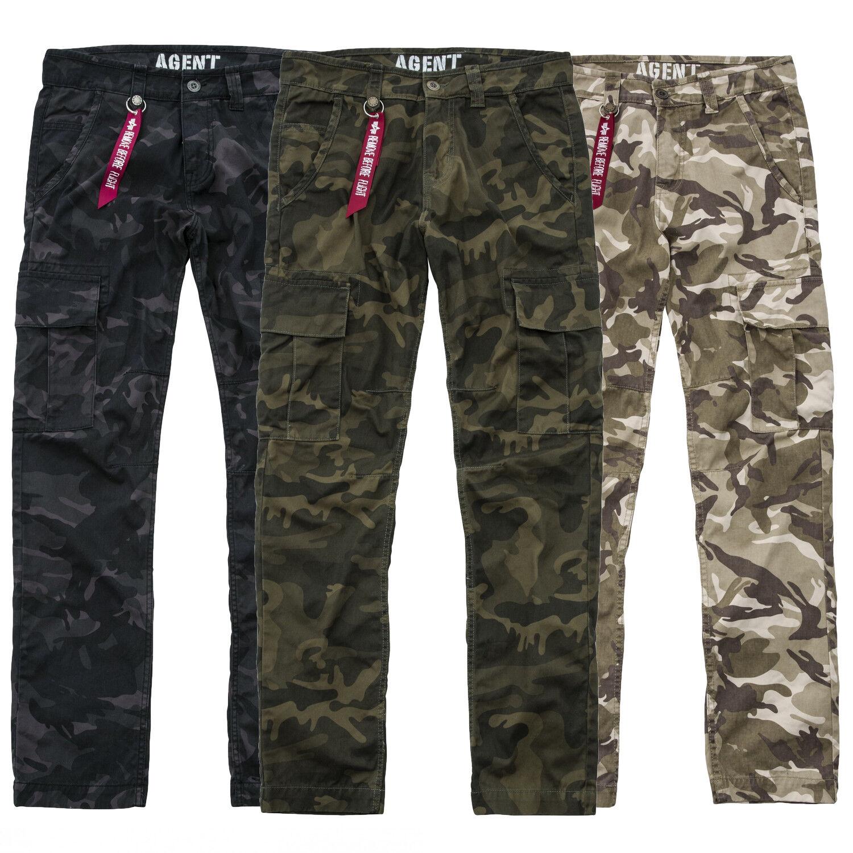 Alpha INDUSTRIES da Uomo Pantaloni agente C cargo pant pant pant cargo pants dimensioni w29 a w38 NUOVO 2b4a12