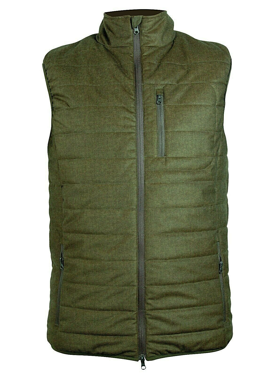 Nieuw.Hart Body Warmer Ascott-V. groen. Xhasv.