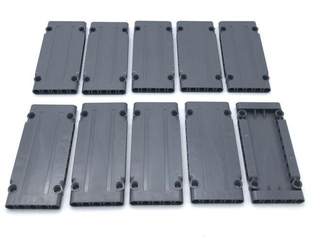 Liftarm 1 x 5 Thick Dark Bluish Gray 10 NEW LEGO Technic