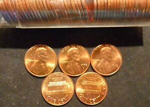 OBW Pennies 1975-D *Original Bank Wrapped* Uncirculated Lincoln Cent Roll H