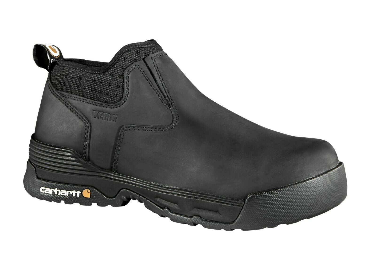 Carhartt CMA4311 para hombre Force 4  Composite Toe Slip On Impermeable Bota De Trabajo Zapatos