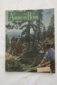 Vintage THE AMERICAN HOME Magazine February 1946 Issue