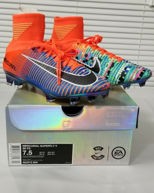 reputable site dac20 9f9c5 Mercurial Superfly V SE FG size 7.5 soccer cleats( EA sports limited  edition)