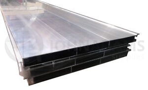 Aluminium Drop Side Hollow Side Plank Section Extrusion