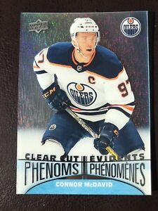 2018-19-Tim-Hortons-Upper-Deck-Clear-Cut-Phenoms-CC-1-Connor-McDavid-FREE-SHIP