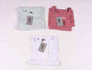 Lot De 3 X Gymshark Femme Gym Entraînement Athlétique T-Shirt Haut Taille M,