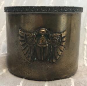 Benedict Karnak Brass Egyptian Revival Cup #2120