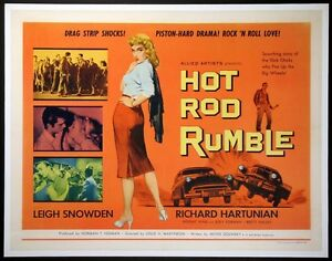Hot-Rod-Rumble-movie-film-DVD-transfer-hot-rod-Drag-Race-Car-Club-Gang-greaser