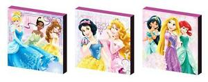 Disney-Princess-set-B-Toile-Wall-Art-PLAQUES-PHOTOS