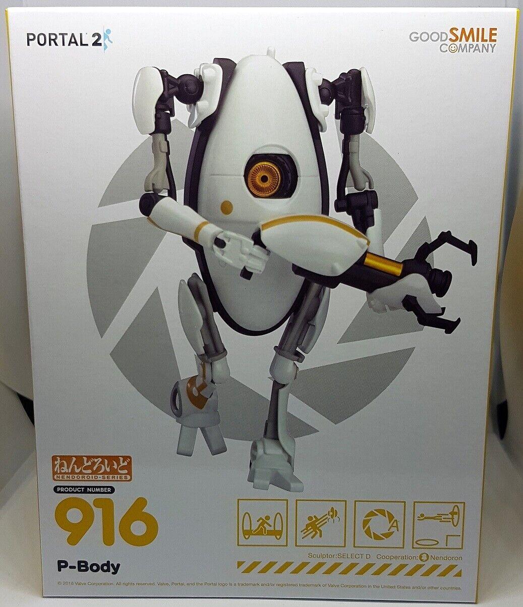 NEW  Good Smile Company 916 Portal 2 Nendgoldid P-Body + Gun + Portals  FEB188862