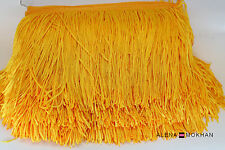 "1 yard 6"" Gold Chainette Fringe Dance Costume Lamp Trim"