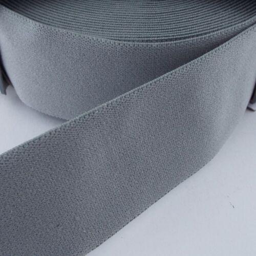 PRYM 20 COLOUR /& PATTERN TOP QUALITY Clothing Elastic 25 38 50mm Soft Feel Wide