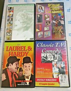 4-DVD-Lot-The-Lucy-Show-Laurel-amp-Hardy-Stage-Door-Canteen-Classic-TV-Comedy-Dick