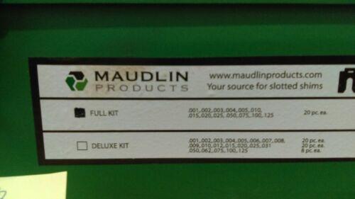 Maudlin product B-3 Slotted Shims Kit