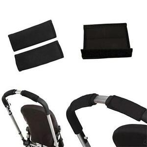 2pcs-Baby-Pushchair-Pram-Stroller-Carriage-Front-Handle-Grip-Bar-Bumper-Cover-CB
