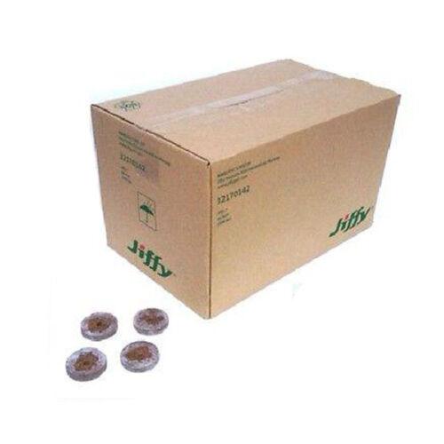 JIFFY PEAT PELLETS BOX OF 1000