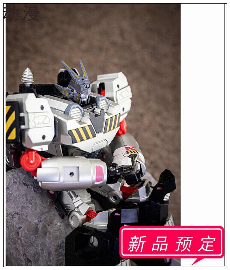 Orden previa de juguete de Transformers MMC R-40 Robot Perro & R28 Megatron actualización Kits