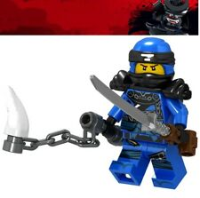 NEW Ninjago Blue Ninja Jay Spinjitzu Custom Lego Mini Figure Lloyd Kai Army Toy