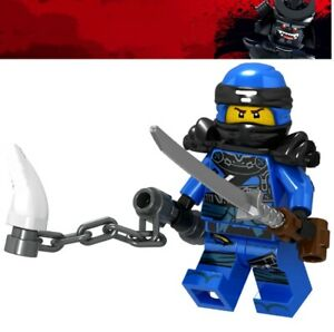 Ninjago-blau-Jay-ZX-Ninja-Spinjitzu-Custom-Lego-Mini-Figur-Lloyd-Kai-Armee-Spielzeug