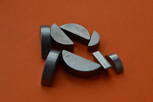 METRIC WOODRUFF KEYS KEY SIZES 2mm 2.5mm 3mm 4mm 5mm - Select Qty - Free P & P