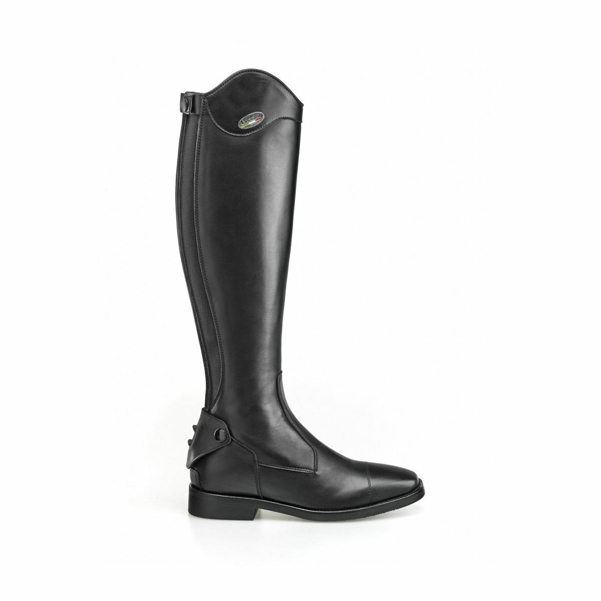 BROGINI LIVORNO WAVE TOP DRESS LONG TALL LEATHER RIDING BOOT SIZE 4.5