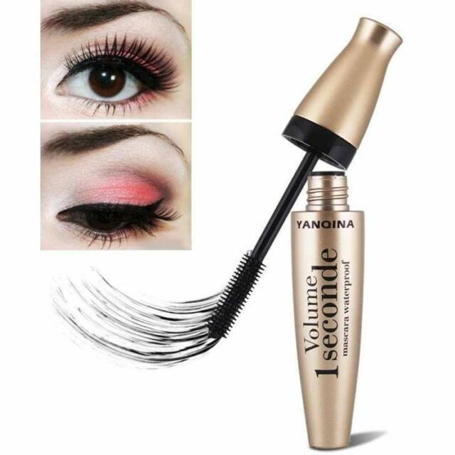 3d Fiber Mascara Black Long Lash Eyelash Extension Waterproof Eye