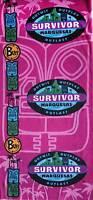 Survivor Buffs: Marquesas Purple Soliantu Merge Tribe Buff - Brand New