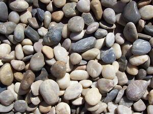 Image is loading 30-lbs-Multi-Color-Polished-River-Rock-Pebble-