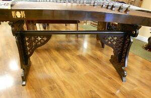 Antique Style Guzheng Stands Set