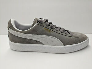 pretty nice a0645 8b21c Details about Puma Suede Classic Sneaker, Steeple Gray/White, Mens 7.5