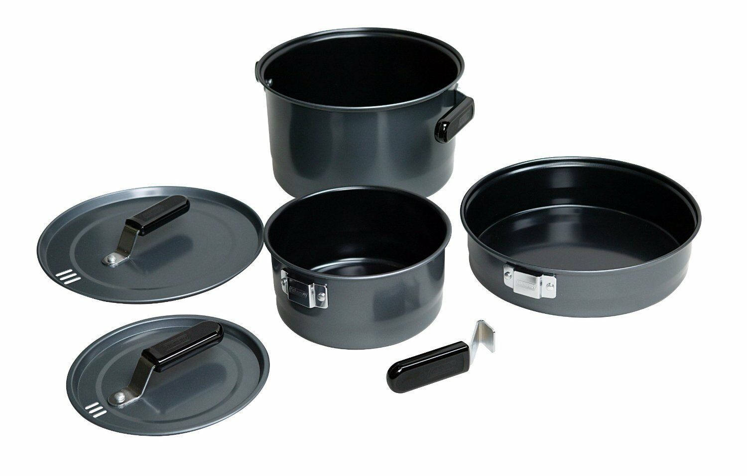 Coleman 6 piece Family Cook Set cooking supplies cookware