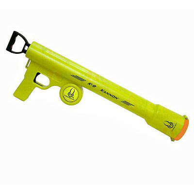 Hyper Pet K-9 Kannon Tennis Ball Launcher Dog Toys Thrower Chucker Pick Up Ball