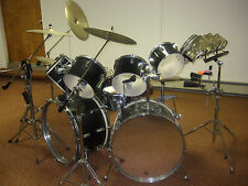 """Tama Vintage 80's ImperialStar Massive Drum Kit! Huge 24"""" Double Bass Cannons!"""