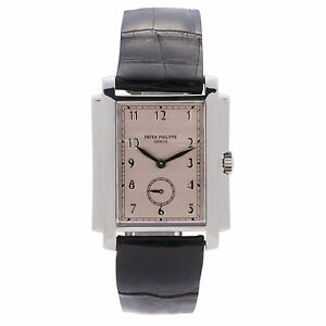 PATEK-PHILIPPE-5024-GONDOLO-MENS-HAND-WIND-WATCH-18K-WHIT-GOLD-SALMON-DIAL-30MME