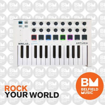 Arturia MINILAB MK2 25 Mini Key Keyboard Hybrid Synth w/ Software - BNIB -  BM 3760033530673   eBay