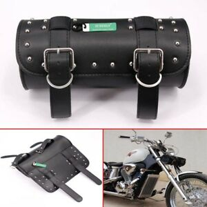 Motorcycle Tool Bag >> Details About Uk Classic Leather Motorcycle Tool Bag Scooter Roll Saddlebag Luggage For Harley