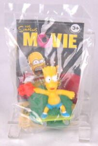 2007 The Simpsons Movie Burger King Kids Meal Talking Toy Bart Simpson Ebay