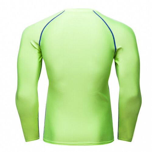 Men/'s Compression T Shirts Running Basketball Fitness Dri fit Tops Lycra Gym Tee