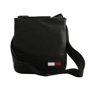 cdade63e8127 Image is loading Shoulder-bag-reporter-Tommy-Hilfiger-man-fabric-nylon-