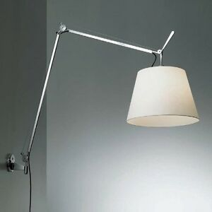 ARTEMIDE-Tolomeo-Mega-PARETE-On-Off-Diffusore-Pergamena-32cm-supporto-Originale